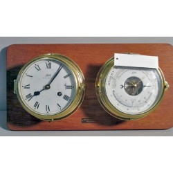 Ship Clock/Barometer AWC-50